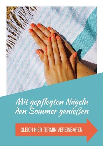 Plakat Nails Sommer genießen