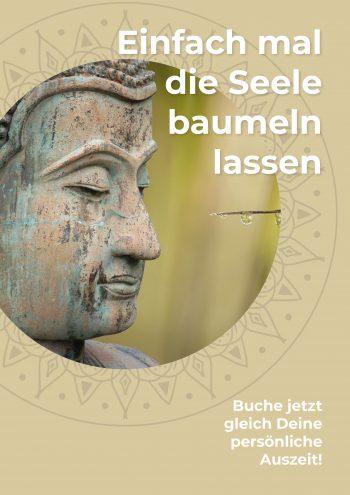 Plakat Buddha Seele
