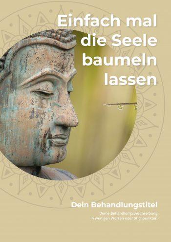 Plakat Buddha Seele Angebot