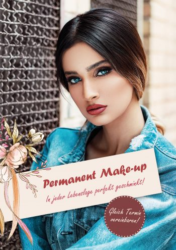 Plakat Permanent Make-up